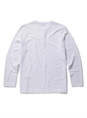 플라켓 포인트 라운드 티셔츠 (WT)