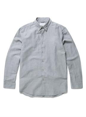 링클 린넨 블랜드 셔츠 (LKH)