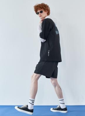 [WML] 페이퍼리 하프 스윔팬츠 (BK)