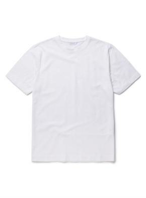 슬럽 라운드 반팔 티셔츠 (WT)