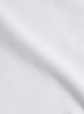 슬리브 소매 절개 포인트 반팔 티셔츠 (WT)