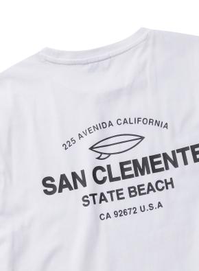 샌클레멘테 그래픽 티셔츠 (WT)