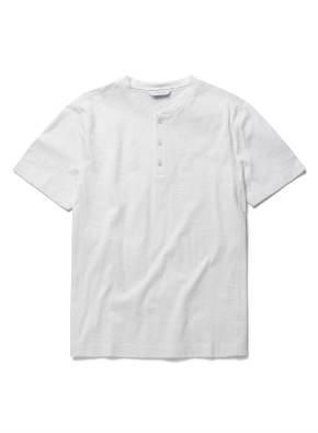 헨리넥 슬럽 반팔 티셔츠 (IV)