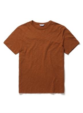 [위클리] 코튼 슬럽 반팔 티셔츠 (OR)