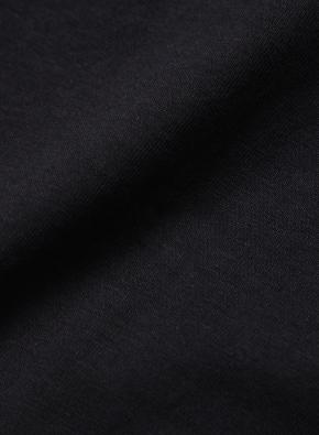 [시크 블랙] 슬럽 포켓 반팔 티셔츠 (BK)