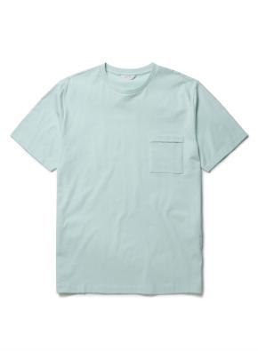 [마일드 민트] 포켓 반팔 티셔츠 (MT)