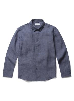 [미드나잇블루] 프리미엄 유로피안 린넨 셔츠 (DBL)