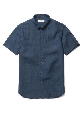 델라브 린넨 반팔 셔츠(PGN)