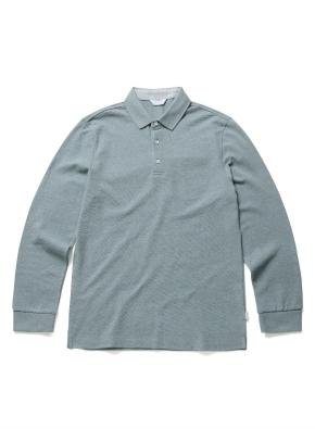 [20FW신상] 컬러 코튼 카라 티셔츠 (MT)