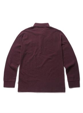 [20FW신상] 컬러 코튼 카라 티셔츠