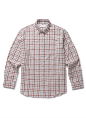 [20FW신상] 체크 컬러 캐주얼셔츠