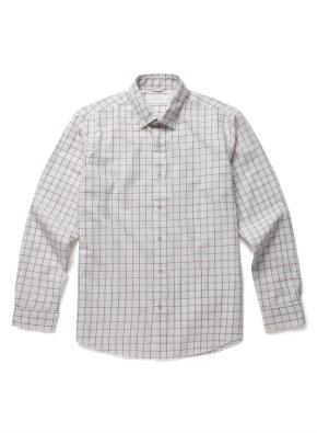 [20FW신상] 더블 컬러 체크 캐주얼셔츠