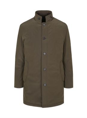 시그니쳐 디테쳐블 구스다운 코트