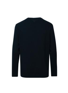 캐시미어 블랜드 솔리드 코튼 스웨터 (PGN)