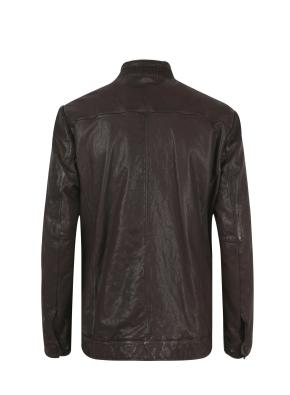 베지터블 폼페이 워싱 가죽 재킷