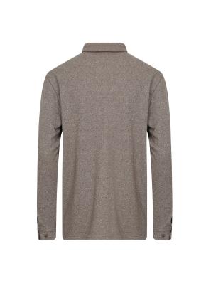 싸이로 절개라인 카라 티셔츠 (BE)