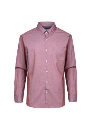면혼방 세로 핀 스트라이프 셔츠 (WN)