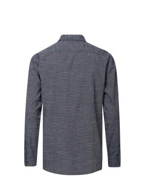 솔리드 슬럽 셔츠 (NV)