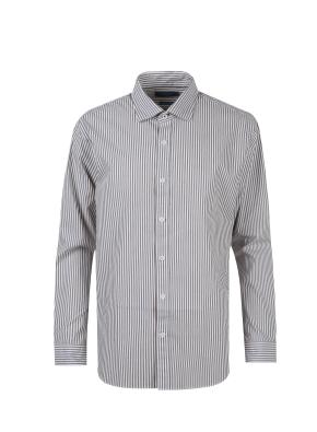 면혼방 아문젠 스트라이프 셔츠 (BR)