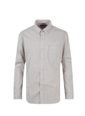면혼방 스트라이프 셔츠 (WN)