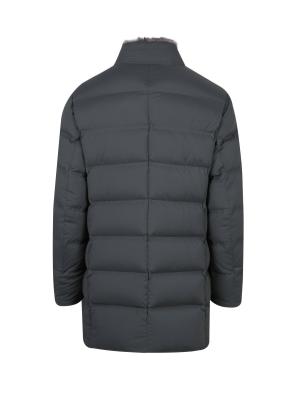 퍼에리 구스다운 퀼팅 코트 (GR)