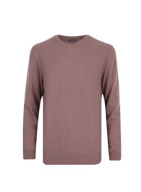 캐시미어 100% 라운드 스웨터 (PK)