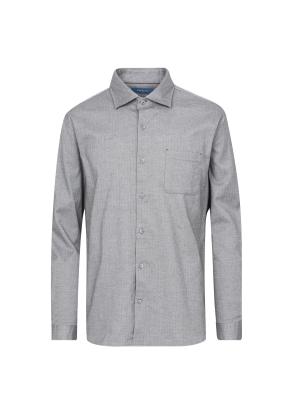 헤링본 패턴 셔츠 (GR)