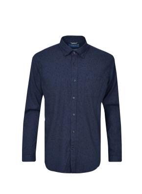 소프트플란넬 올오버 프린트 셔츠