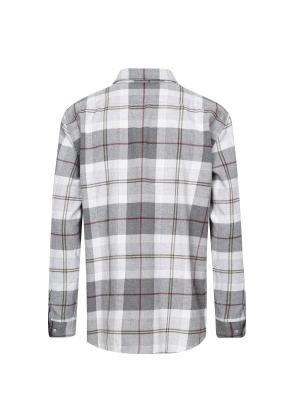 멀티 빅체크 패턴 셔츠