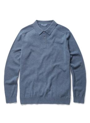 솔리드 에리 카라 스웨터 (BL)
