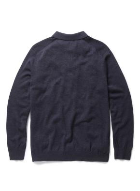솔리드 에리 카라 스웨터 (NV)