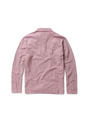 면혼방 크레이프 카라 티셔츠 (LPK)