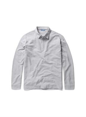 면혼방 크레이프 카라 티셔츠 (MGR)