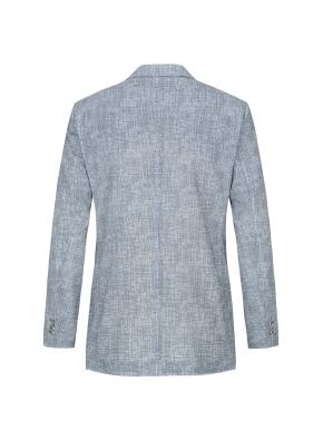 경량 에어도트 프린트 재킷