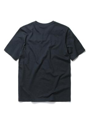 슬럽 실켓 변형 헨리넥 티셔츠 (DGR)