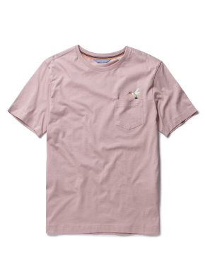 [Fairy pitta] 팔색조 프린트 포켓 티셔츠 (LPK)
