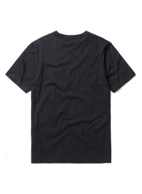 실켓 베이직 포켓 라운드 티셔츠 (BK)