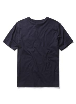 실켓 베이직 포켓 라운드 티셔츠 (NV)