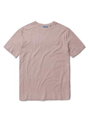 베이직 슬럽 반팔 포켓 티셔츠 (LPK)