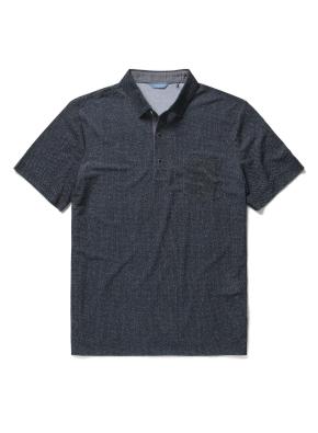 폴리 혼방 포켓 카라 티셔츠 (DGR)