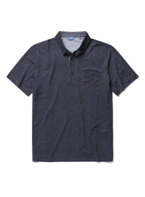 폴리 혼방 포켓 카라 티셔츠 (DNV)