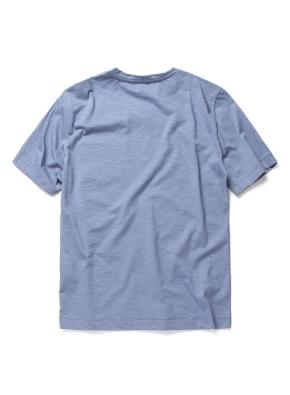 슬럽 실켓 포켓 브이넥 티셔츠 (LBL)