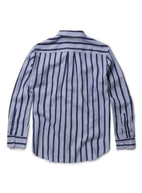 히든버튼 델라베 린넨 셔츠 (LBL)