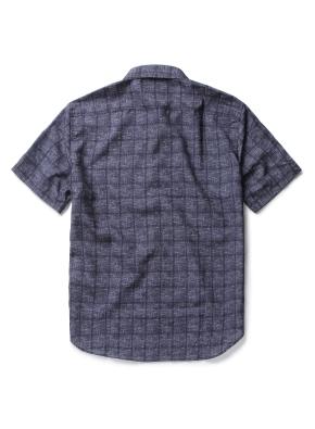 에어도트 히튼버튼 카라 패턴 셔츠