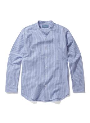 헨리넥 핀스트라이프 셔츠 (LBL)