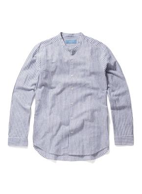 헨리넥 핀스트라이프 셔츠 (WT)