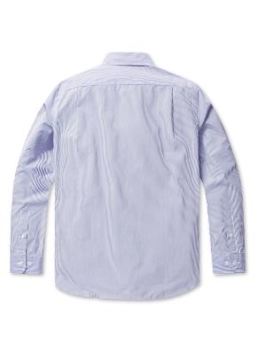 코튼 스트라이프 드레스 셔츠(BL)