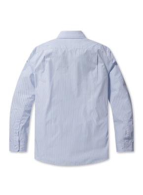 코튼 스트라이프 드레스 셔츠(LBL)