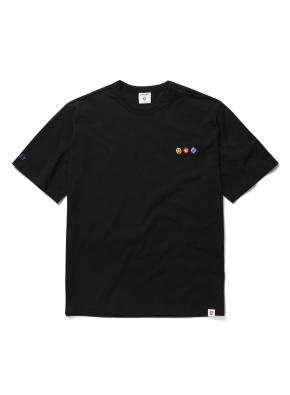 275C 콜라보 시그니쳐 그래픽 티셔츠 (BKA)