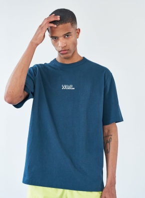 [WML] 큐빅 이팩트 로고 그래픽 티셔츠